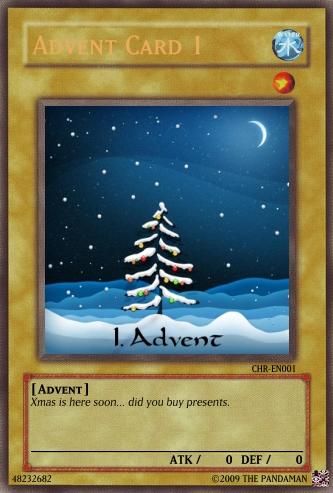 Advent Card 1
