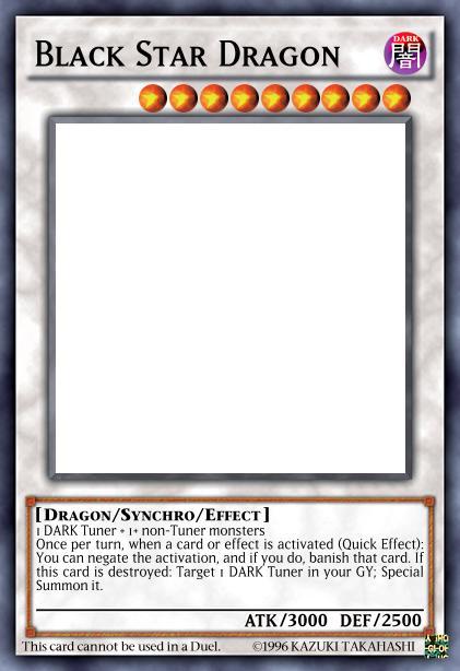 Black Star Dragon
