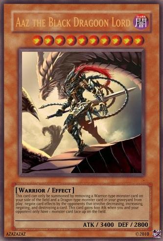Aaz the Black Dragoon Lord