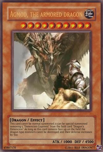 Agmod, the armored dragon
