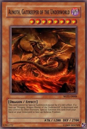 Aunoth, Gatekeeper of the Underworld