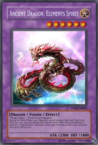 Ancient Dragon, Elements Spirit