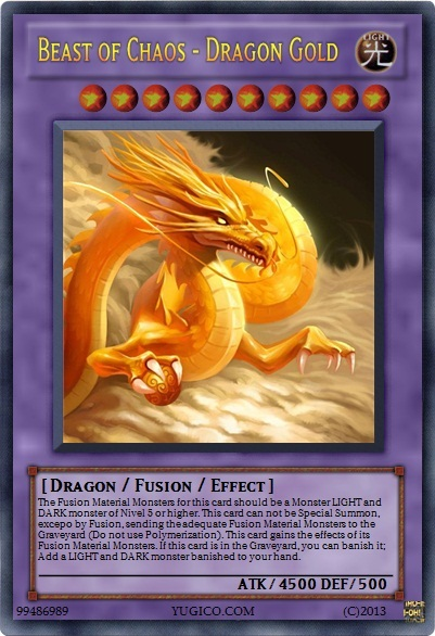 Beast of Chaos - Dragon Gold