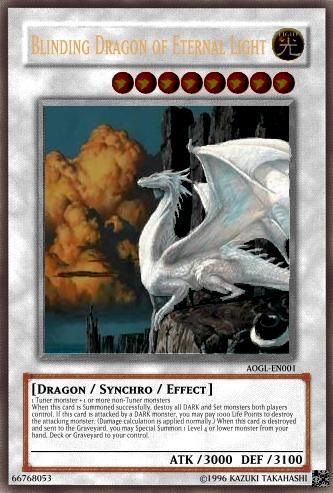 Blinding Dragon of Eternal Light