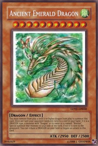 Ancient Emerald Dragon