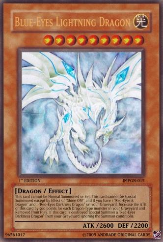 Blue-Eyes Lightning Dragon