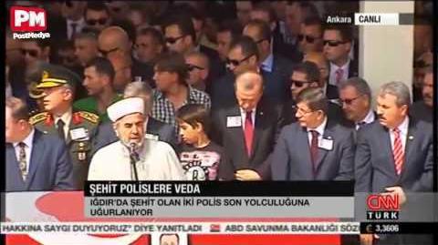 Abdullah Gül'ün korumaları şehit oldu