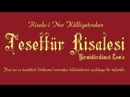 Risale-i Nur Külliyatı-Lem'alar-Yirmidördüncü Lem'a - Tesettür Risâlesi-3