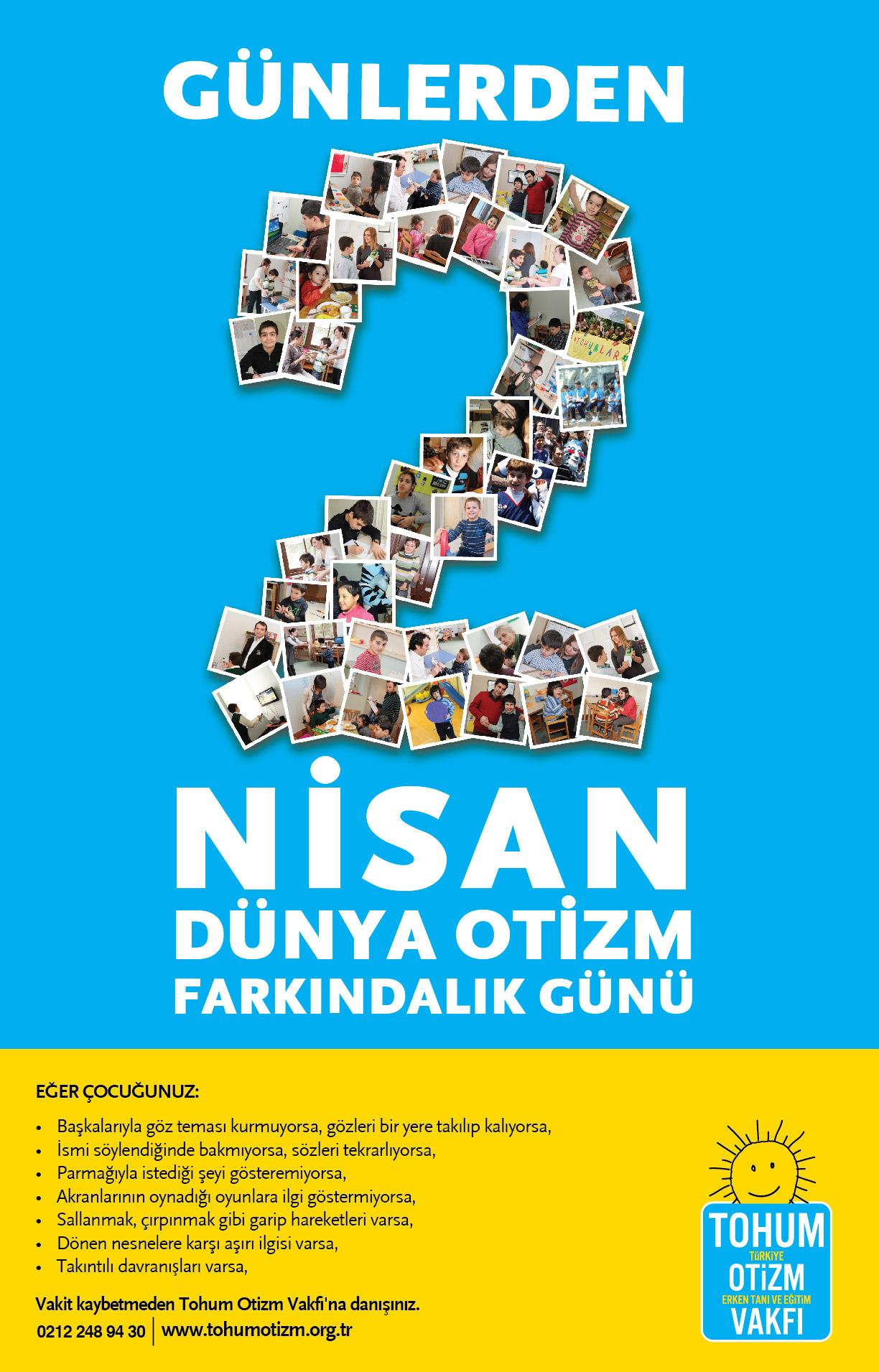 2 Nisan Dünya Otizm Günü