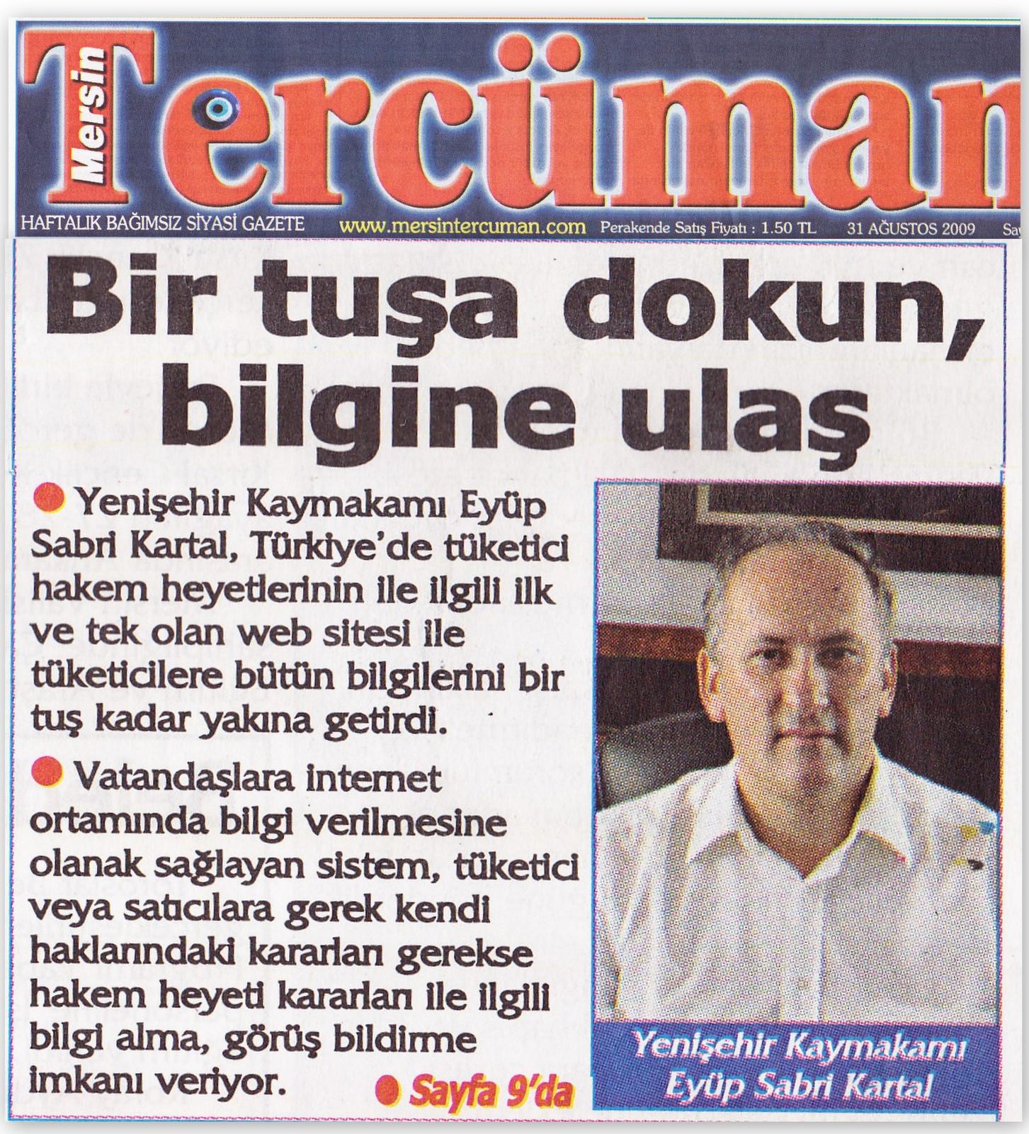 Yenişehir TSHH haberleri
