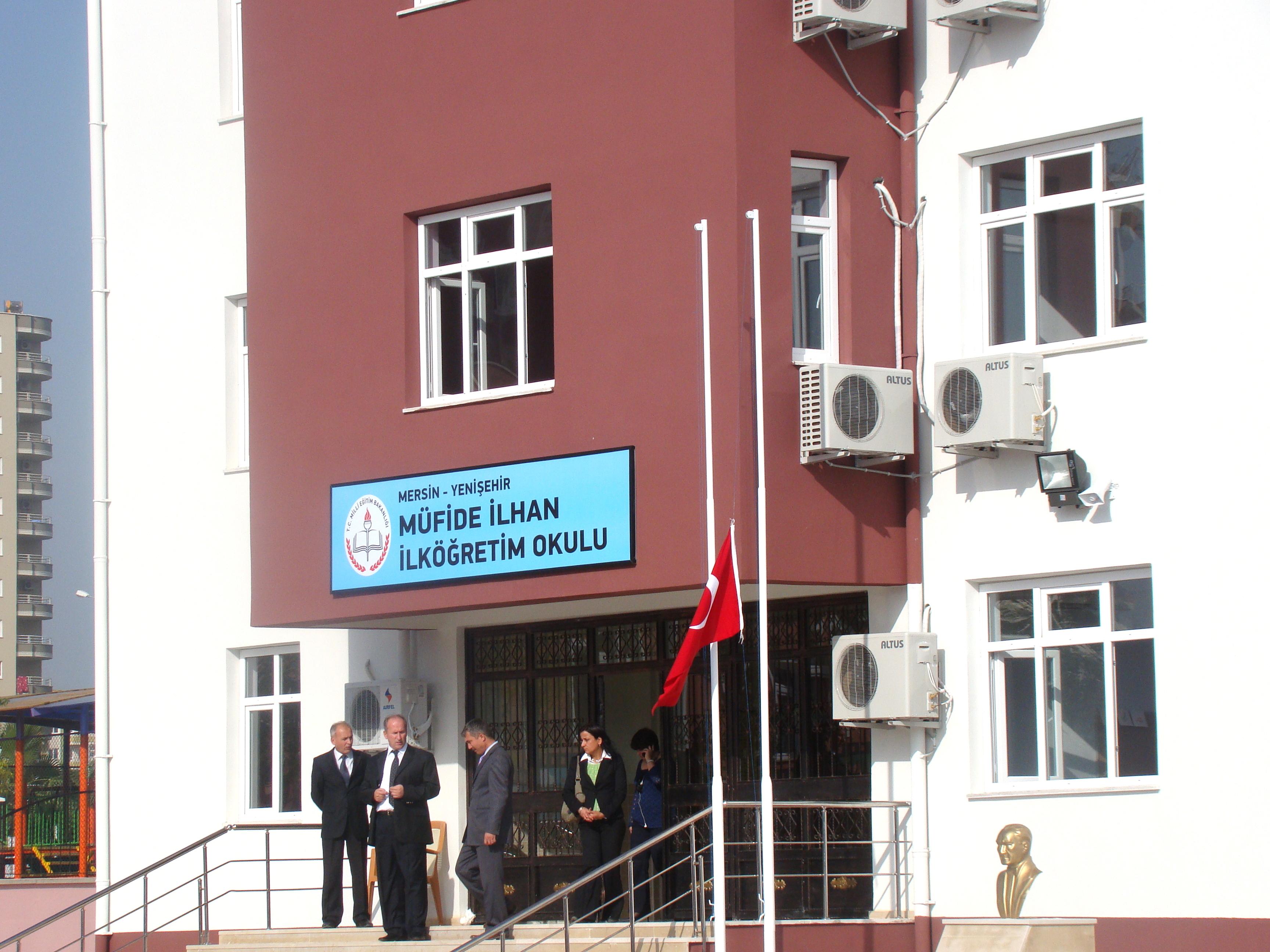 13 Kasım 2009 Yenişehir'de okul açılışları