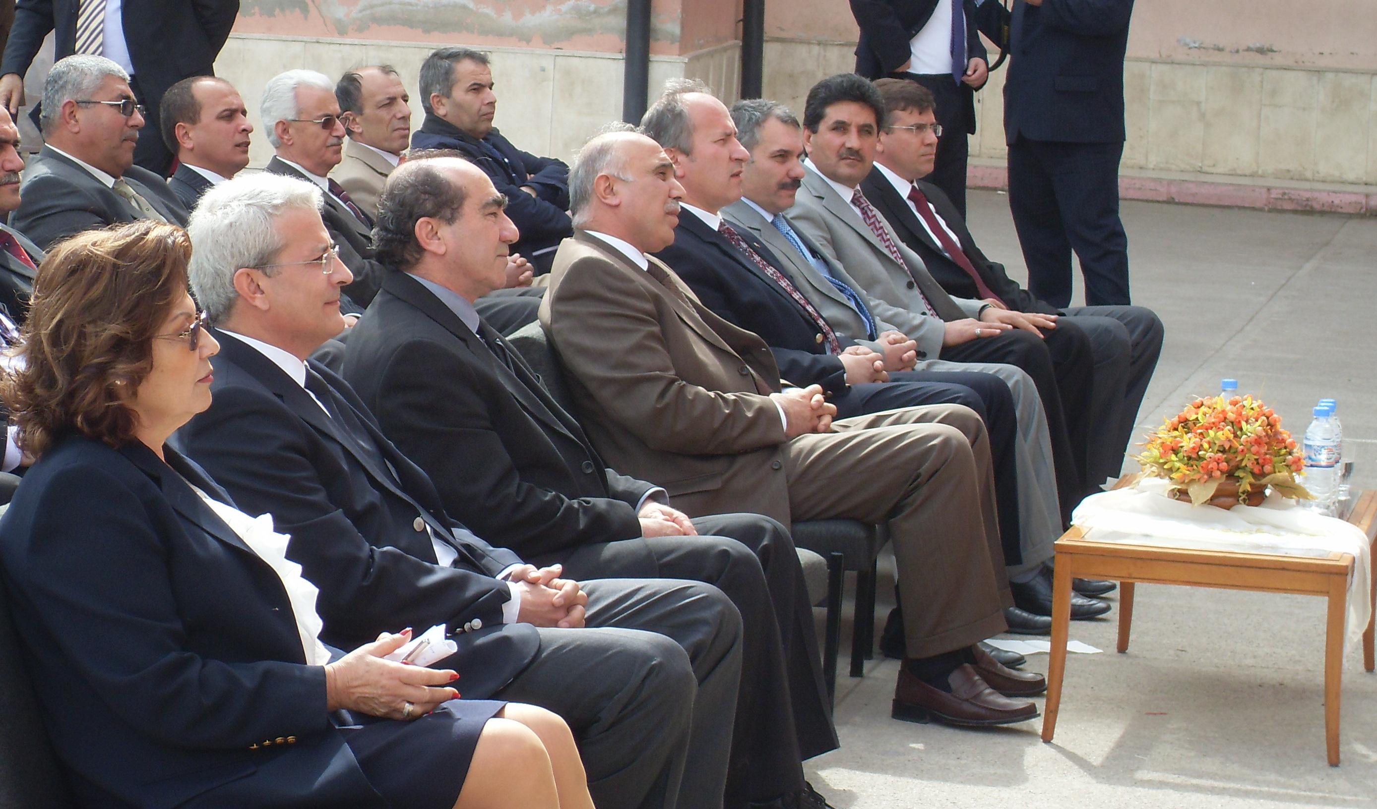 6 mart 2009 Necdet Ülger iöo.hayal ortakları kütüphanesi açılışı: