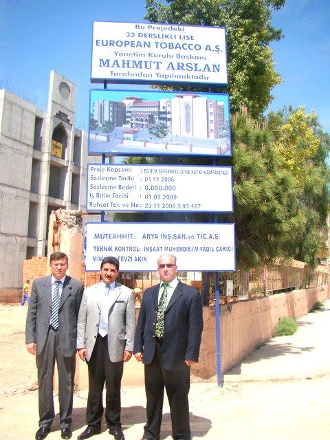 Mahmut Arslan Anadolu Lisesinin Açılışı