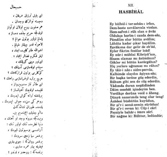 Hasbihal 2 - Mehmet Akif Ersoy - Safahat