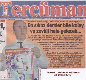 Akıllı tahta mersin tercüman gazetesi haberi.jpg