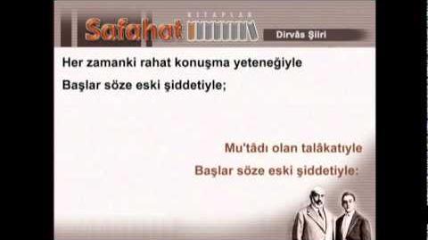 Dirvâs - Mehmet Akif Ersoy - Safahat