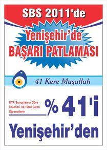 Sbs 2011 başarı afişi