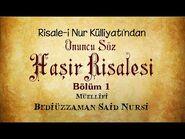 Risale-i Nur Külliyatı-Sözler-Onuncu Söz - Haşir Risalesi (Bölüm 1-12)-2