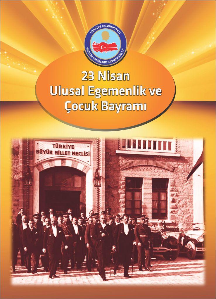 23 Nisan Ulusal Egemenlik ve Çocuk Bayramı/Yenişehir