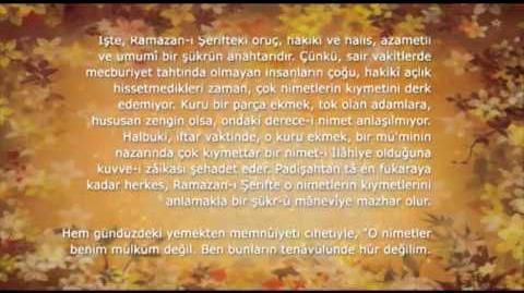 RAMAZAN RİSALESİ