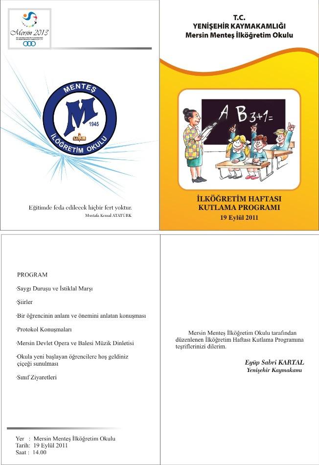 İlköğretim Haftası / 2011-2012