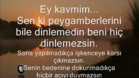 EY_KAVMİM_(ŞİİR)-_Sen_Ki_Peygamberlerini_Bile_Dinlemedin
