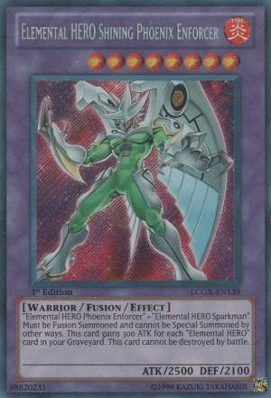 Elemental HERO Shining Phoenix Enforcer