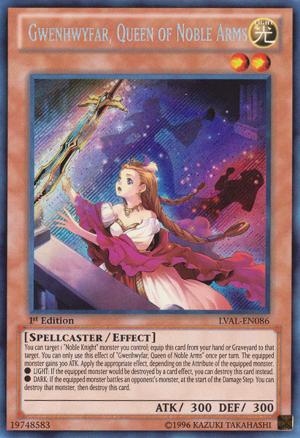 Gwenhwyfar, Queen of Noble Arms