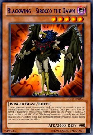 Blackwing - Sirocco the Dawn