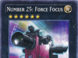 Number 25: Force Focus