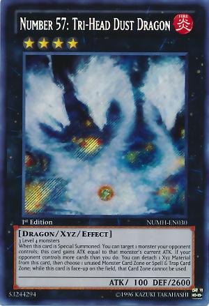 Number 57: Tri-Head Dust Dragon