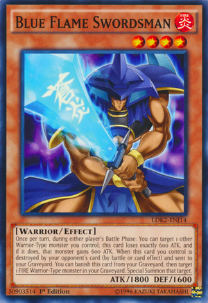 Blue Flame Swordsman