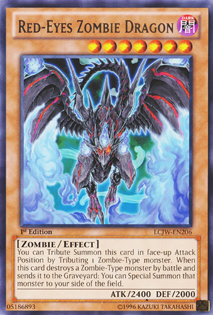 Red-Eyes Zombie Dragon