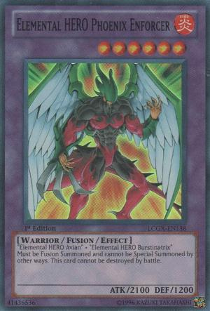 Elemental HERO Phoenix Enforcer