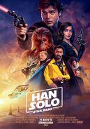 Han Solo Bir Star Wars Hikayesi alternatif Türkiye posteri