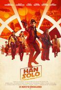 Han Solo Bir Star Wars Hikayesi Türkiye poster