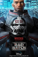 Star Wars The Bad Batch Wrecker poster
