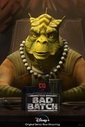 Star Wars The Bad Batch Cid poster