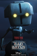 Star Wars The Bad Batch Todo 360 poster