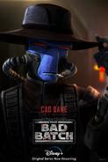 Star Wars The Bad Batch Cad Bane poster
