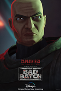 Star Wars The Bad Batch Rex poster