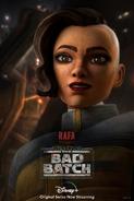 Star Wars The Bad Batch Rafa Martez poster