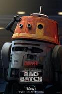 Star Wars The Bad Batch Chopper poster