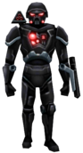 Phase II dark trooper-Full body
