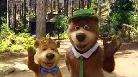 """My Fun Interview with Yogi Bear and Boo Boo for """"Yogi Bear"""""""