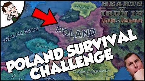 Hearts of Iron 4 HOI4 Poland Outlasts France Survival Challenge