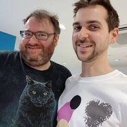 Lewis and Simon Facebook 2017