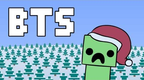 Minecraft Christmas Behind The Scenes