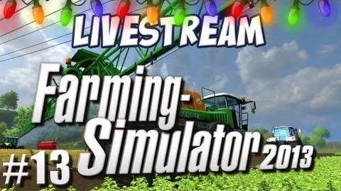 Farming Sim - Part 13 - Megafish LIVE