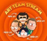JingleJam2016 Art Team Stream